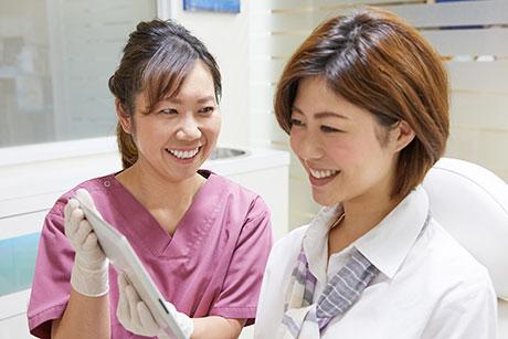 柳原歯科医院のコンセプトは、「削らない」「抜かない」「痛くない」です。